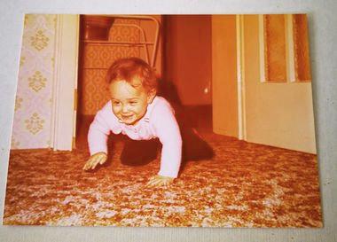 Über mich Autor Marco A. Rauch als Kleinkind